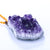Natural Amethyst Pendant Jewelry Necklace 52cm, 55x42x22mm, 65g