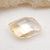 Jewelry Making Natural Yellow Quartz Gemstone Ring Cabochon For Gift, 16x11x6mm, 1.7g