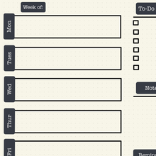 Load image into Gallery viewer, Weekly Planner Downloadable