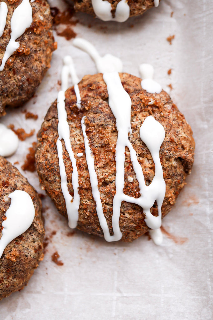 Buckwheat Pumpkin Spiced Scones