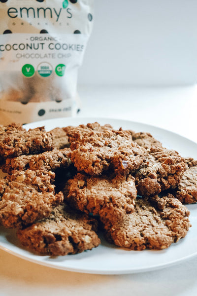 Pecan Chocolate Chip Cookies | Emmy's Organics