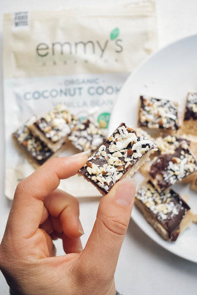 Almond Joy Bars | Emmy's Organics