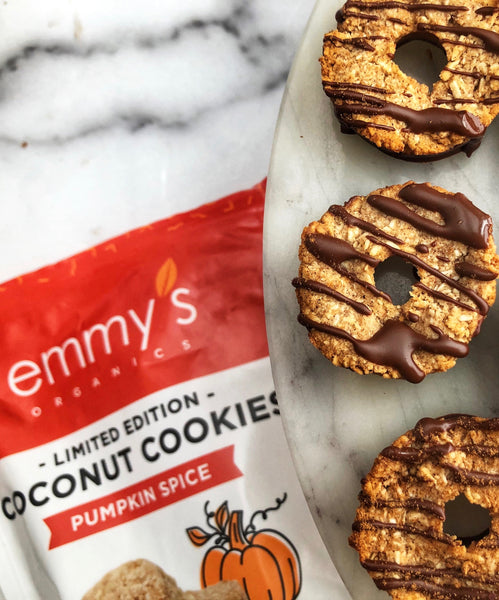 Baked Pumpkin Spice Donuts | Emmy's Organics