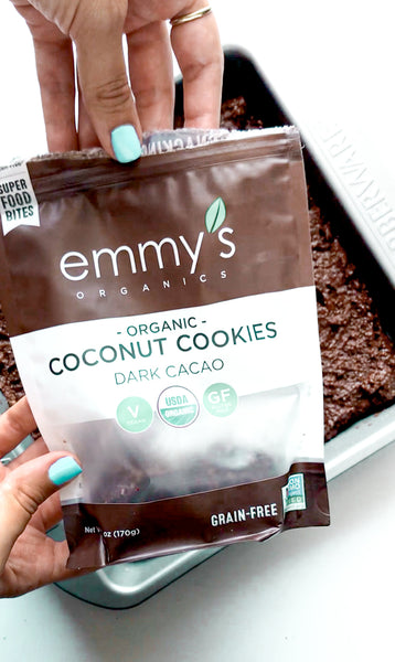 Double Chocolate Chip Bars | Emmy's Organics