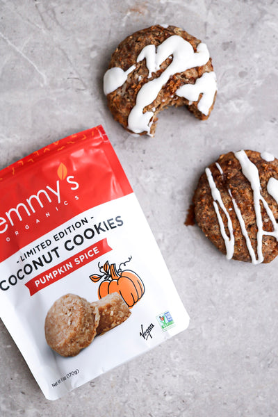 Buckwheat Pumpkin Spiced Scones | Emmy's Organics