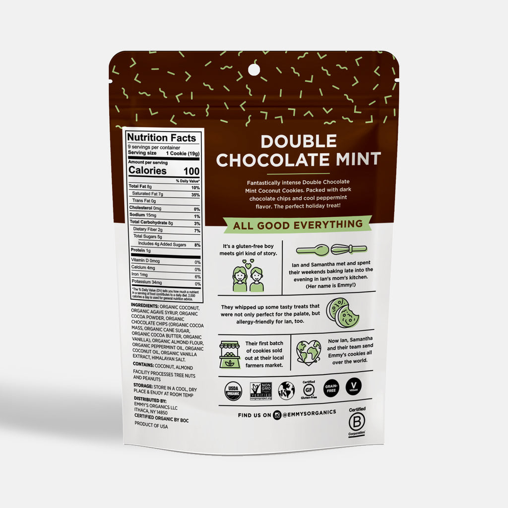 Organic Double Chocolate Mint