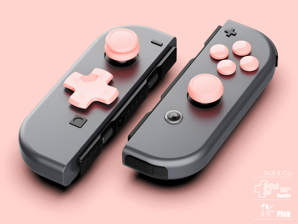 Pink Bundle for Nintendo Switch Joy-cons