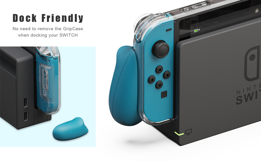 GripCase Crystal for Nintendo Switch