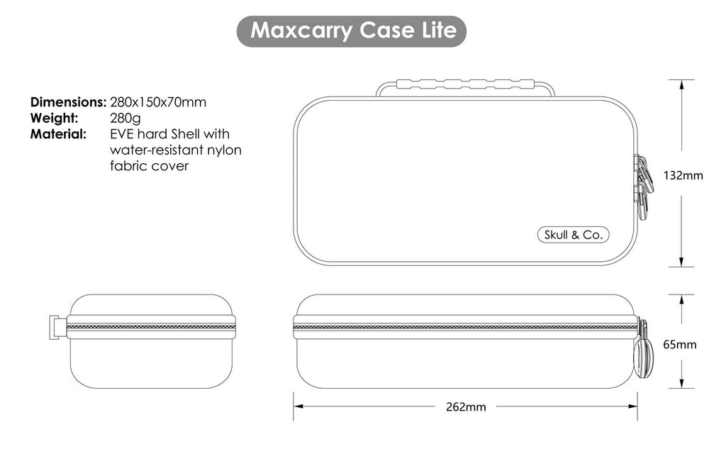 Maxcarry case Lite for Switch Lite