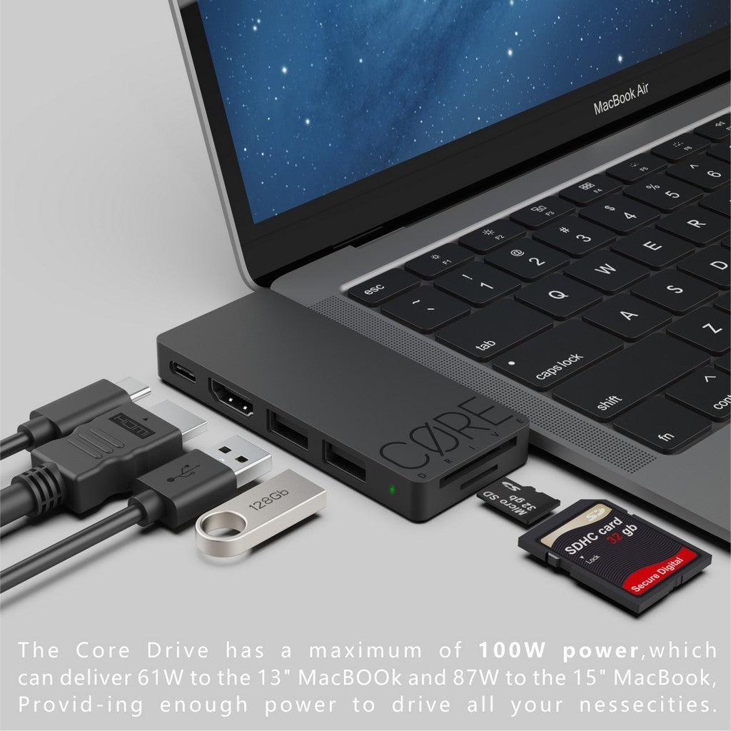core drive for macbook