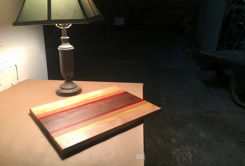 cutting board woodworking workshop class