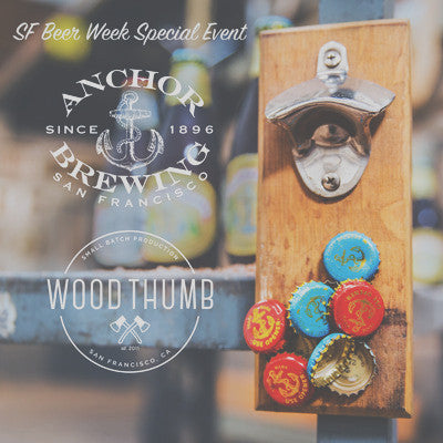 Past Event: Woodworking and Brews: Featuring Anchor Steam