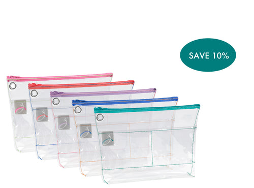 Zipped Reusable Organizer 13