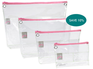 Zipped Reusable Organizer Starter Set of 4