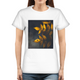 Yellow Leaves Women's Graphic T-Shirt