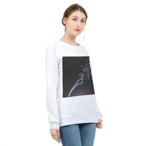 Smoking Kills Women's Graphic Sweatshirt
