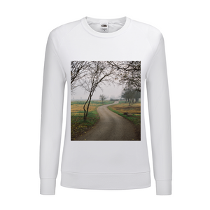 Foggy Trees Women's Graphic Sweatshirt