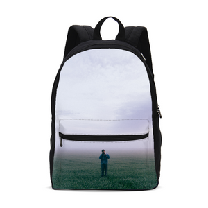 The Lonely Photographer Small Canvas Backpack