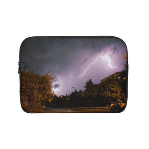Purple Light Laptop Sleeve
