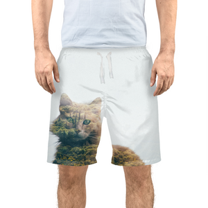 Cat&Forest - Mens Swim Trunks