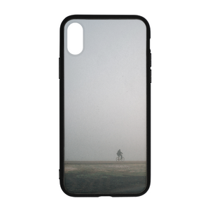Foggy Rider - iPhone X Case