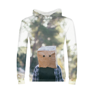 The Hiding Face - Kids Hoodie
