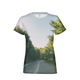 Forested Road Women's T-Shirt
