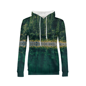 Crazy Reflection - Womens Hoodie
