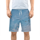 Blue Sky - Mens Swim Trunks