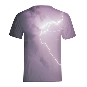 Purple Light Kids T-Shirt