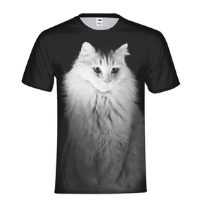 Lighting Cat - Mens T-Shirt