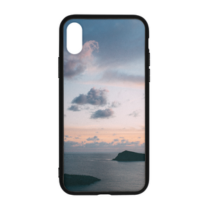 Cloudy Sunset iPhone X Case