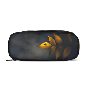 Yellow Leaves Pencil Case