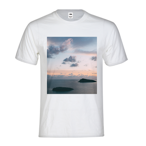 Cloudy Sunset Kids Graphic T-Shirt