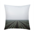 "End of the field Throw Pillow 16""x16"""