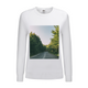 Forested Road Women's Graphic Sweatshirt