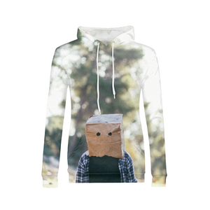 The Hiding Face - Womens Hoodie