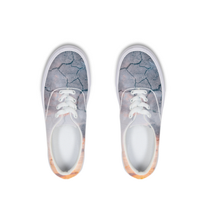 Sky Ground Lace Up Canvas Shoe