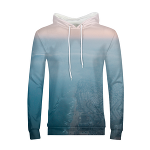 Top View - Men's Hoodie