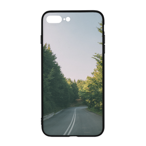 Forested Road iPhone 8 Plus Case