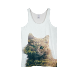 Cat&Forest - Mens Tank