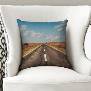 "The Infinity Way Throw Pillow Case 16""x16"""