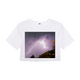 Purple Light Women's Crop Top