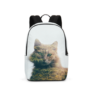 Cat&Forest Large Backpack