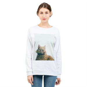 Cat&Forest Women's Graphic Sweatshirt