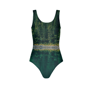 Crazy reflection Women's One-Piece Swimsuit