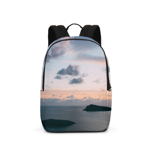 Cloudy Sunset Large Backpack