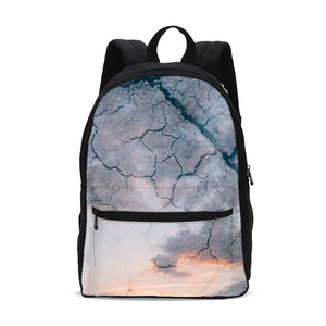 Sky Ground Small Canvas Backpack