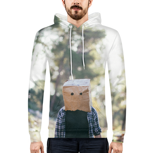 The Hiding Face - Mens Hoodie