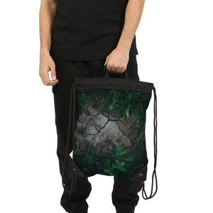 Breaking Ground Canvas Drawstring Bag